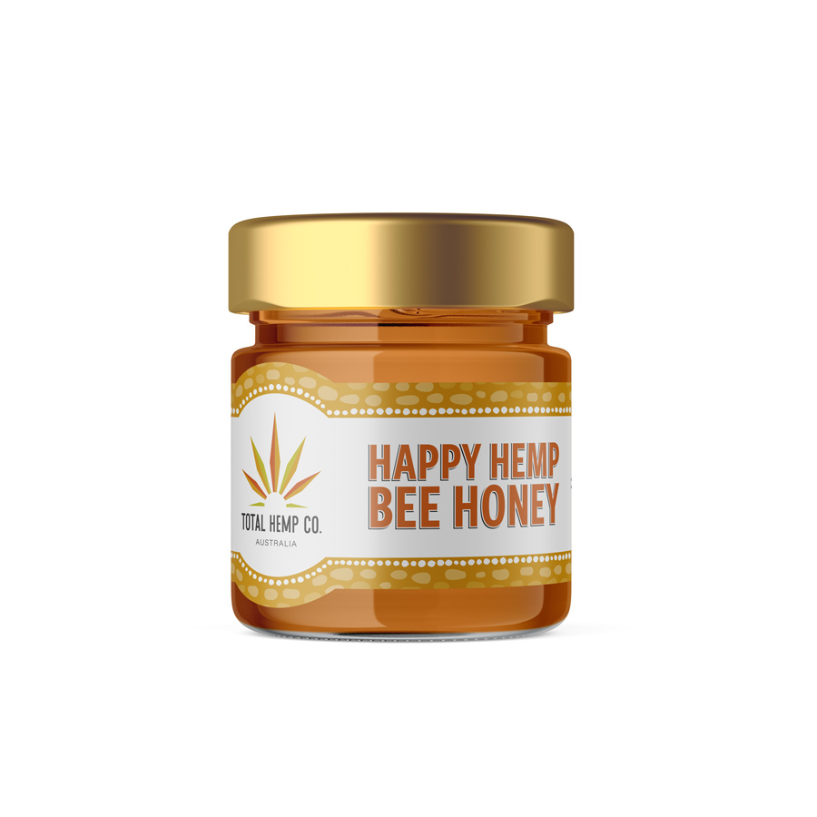 Happy Hemp Bee Honey